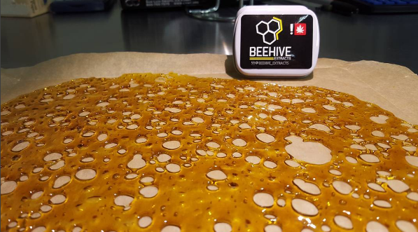 Fire Afghan Cookies Shatter Review by Beehive Extracts